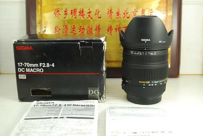 99新 索尼a口 适马 17-70 F2.8-4 Macro 单反镜头 广角中焦挂机