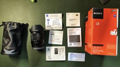 自用:索尼 Vario-Tessar T* E 16-70mm f/4 ZA OSS(SEL1670Z)