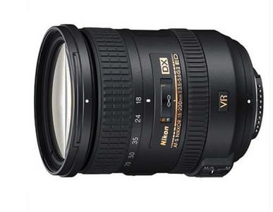 尼康18-200mm f/3.5-5.6G ED VR二代带锁镜头99新