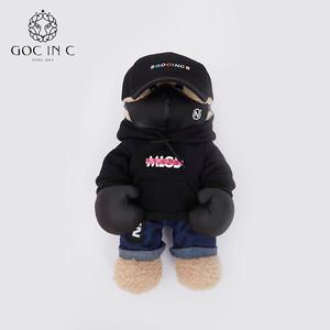 GOC IN C联名NPC新品拳击熊热水袋安全防爆暖手宝充电电暖宝正品