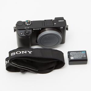 Sony索尼 ILCE-6000单机 a6000 无反单电微单数码相机95新NO:4165