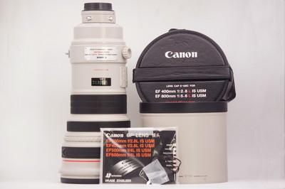 96新带镜头箱佳能400mm f/2.8L IS USM大炮单反镜头佳能400/2.8