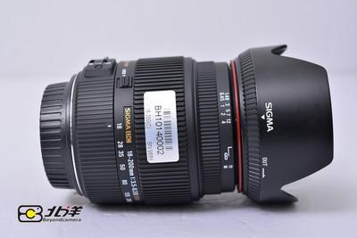 98新 适马 18-200mm 3.5-6.3 II OS HSM  佳能口 (BH10140002)