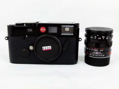 华瑞摄影器材-徕卡 M6黑漆带50/1.4黑漆套机