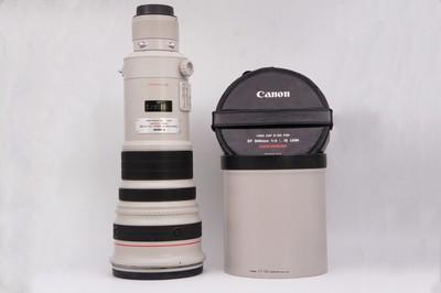 96新带镜头箱佳能EF 500mm f/4L IS USM大炮单反镜头500/4L防抖
