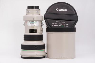 96新带镜头箱佳能400mm f/4 DO IS USM大炮镜头大绿400/4 DO防抖