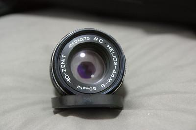 八羽怪 HELIOS-44M-6 58mm 1:2