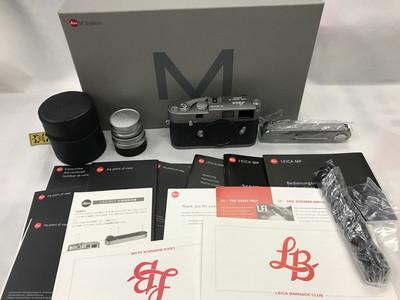 LEICA/徕卡 MP 灰色限量600台 带过片器 50/2.8缩头 限量版