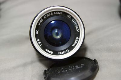 收藏级 Vivitar 威达 28/2.8 原生PK口 送SONY 52mm UV