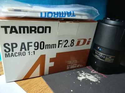腾龙SP AF 90mm f/2.8 Di MACRO 1:1  USD尼康口