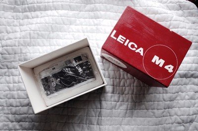 全新收藏品 徕卡 Leica M4 银色机身 带L封 带包装