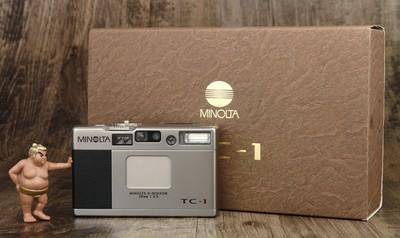 美能达 Minolta TC-1 TC1 箱说全 极美品