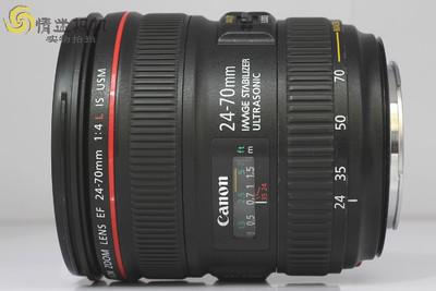 【全画幅标准变焦镜头】佳能24-70/4L IS USM(NO:2646)