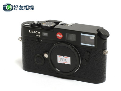 徕卡/Leica M6 TTL 0.85 旁轴相机 黑色 *95新*