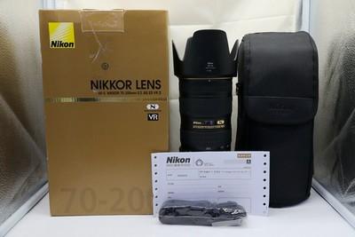 96新二手Nikon尼康 70-200/2.8 G VR II 大竹炮 469230深