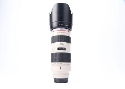 95新二手Canon佳能 70-200/2.8 L 小白变焦镜头 424857津