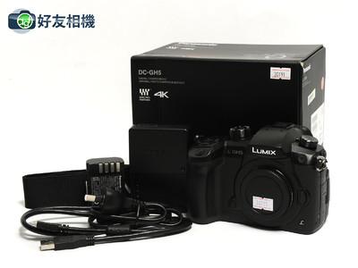 松下 DC-GH5 微型单电数码相机 摄像4K 松下GH5 wifi *98新连盒*