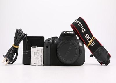 95新二手 Canon佳能 700D 单机 专业单反相机 014711州