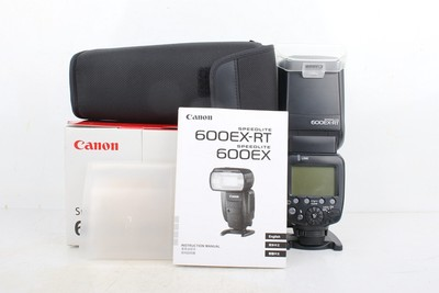 98新二手Canon佳能 600EX-RT 一代机顶闪光灯 106009京