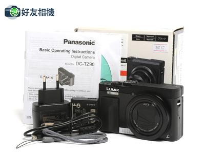 松下Lumix DC-TZ90 30倍长焦数码相机 摄像4K *99新连盒*