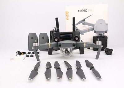 95新二手DJI大疆 御 Mavic Pro  三电全能套装无人机 1202ZH津