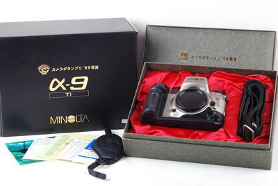 美能达 a9 Ti钛版 日本99年相机大奖获奖#jp20952