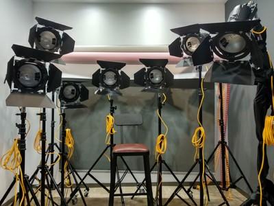 易事来7盏镝灯及其配件附件套摄影室设备
