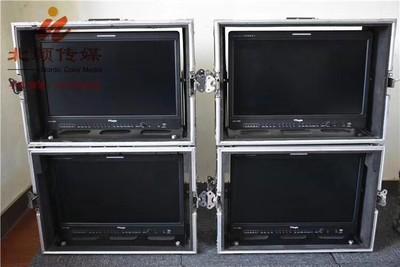 出售9成新TV logic LVM-182W 18.5寸监视器,带箱子和电池扣板