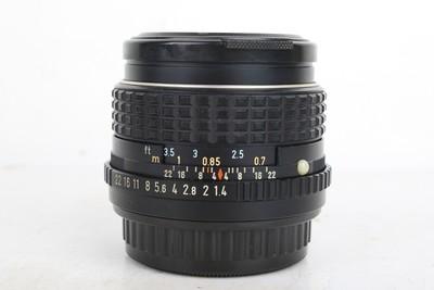 94新宾得 SMC PENTAX-M ASAHI 50/1.4 PK口 大光圈镜头 068722京