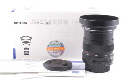 98/蔡司 Distagon T* 25mm f/2.8 带触点 ZF.2 (全套包装) 尼康口