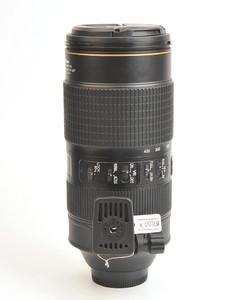 尼康AF-S NIKKOR 80-400/4.5-5.6G ED VR自动对焦单反镜头X00769