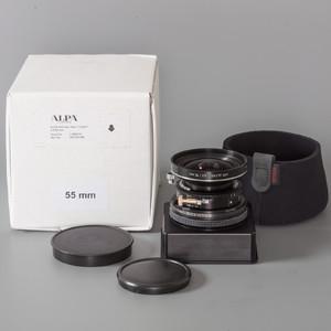 98新 阿尔帕 Alpa 罗顿斯德 55/4.5 APO Alpar 镜头 带包装