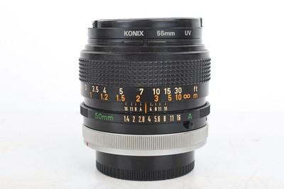 92新二手Canon佳能 50 1.4 FD 手动镜头 386021京