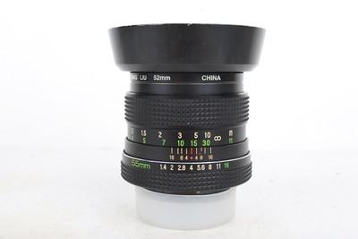 94新二手禄来 ROLLEINAR-MC 55/1.4  大光圈镜头 107716京