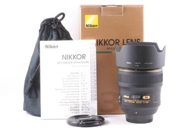 98/尼康 AF-S 35mm f/1.4G 镜头 成色极新  (全套包装)