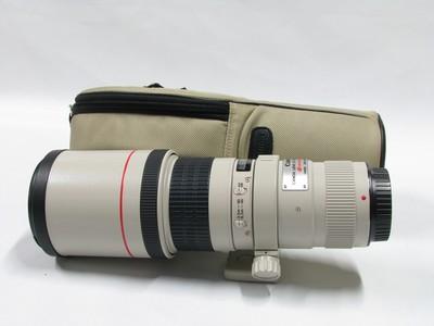 佳能 EF 400mm f/5.6 L USM镜头98新带包包