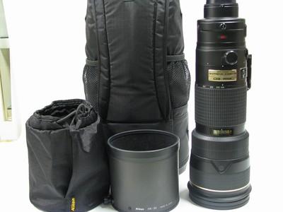 尼康 AF-S VR 200-400mm f/4G IF-ED镜头98新左右带包