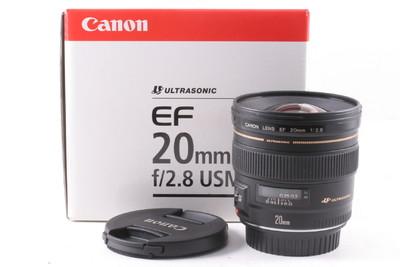 99/佳能 EF 20mm f/2.8 USM 镜头 极新净 (全套包装)