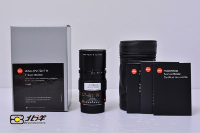 99新 Leica APO-Telyt-M 135  f/ 3.4 ROM 带包装 (BH10170001)
