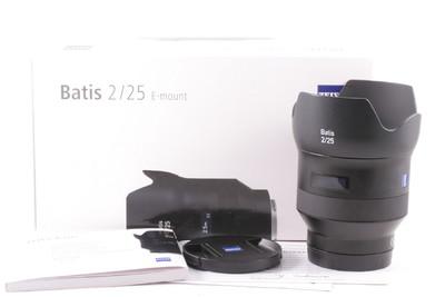 98新/卡尔.蔡司BATIS 25mm f/2.0镜头(全套包装)索尼 FE e卡口