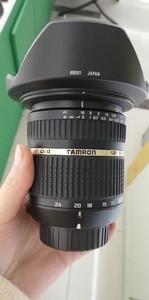 出一支绝对99新的腾龙10-24mm F/3.5-4.5