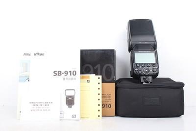 95新二手Nikon尼康 SB-910 机顶闪光灯 164049京