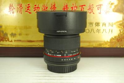 98新 佳能口 三阳 8mm F3.5 II FISH-EYE 鱼眼 手动定焦镜头