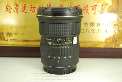 95新 佳能口 图丽 12-24 F4 PRO 超广角 单反镜头 恒圈 非全幅
