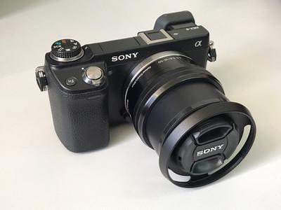 索尼微单数码相机NEX-6+ 16-50镜头套机 【天津福润相机行】