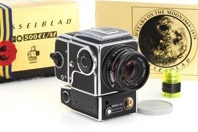 哈苏 Hasselblad 500EL/M + 80/2.8 C T* + A12 登月纪念机