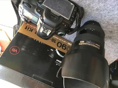 尼康 D90,17-55镜头,全套出