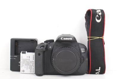 94新二手 Canon佳能 700D 单机 专业单反相机 回收 005090州