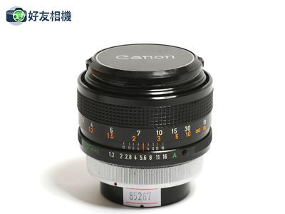 佳能 FD  55/1.2 S.S.C 镜头 ASPHERICAL 非球面镜片 手动 *95新*
