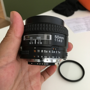 尼康 AF-S 50mm f/1.4 G 全幅镜头 标头自用